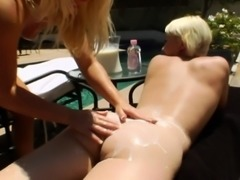 Enema fetish lesbian squirts milk from ass