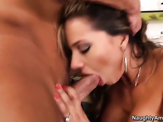 Horny as hell sweetie Esperanza Gomez with juicy boobs shows off her body...