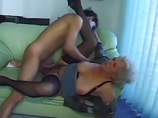 """Mature amateur gets her pussy hammered"""