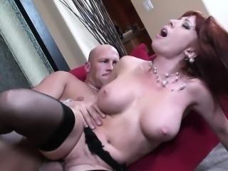 Redhead Mom Brittany O Connell Pierced Pussy