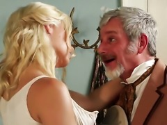 Anikka Albrite takes dudes throbbing dick in her mouth