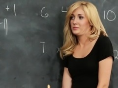 Emily Kae Sucks a Long Teacher Cock