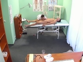 Brunette nurse fucking in hospital
