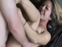 Amateur retro babe assfucked before creampie