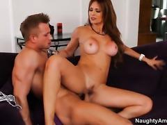 Bill Bailey is ready to make super sexy Monique Fuentess every sex dream a...