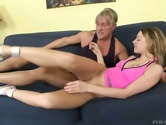Christoph Clark loves bodacious BerniceS bottom and fucks her as hard as...