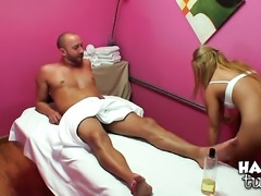 Will Powers uses his erect love torpedo to bring blowjob addict Blonde to the...
