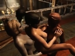 More Fun With Futa - Incredible 3D anime xxx movies