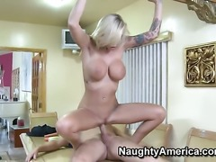 Mark Wood gets seduced into fucking by Brooke Banner