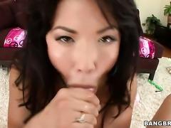 Exotic London Keyes enjoys throbbing meat pole deep inside her cunt in...