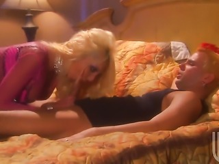 Hot bodied temptress Donna Doll and hot blooded guy have oral sex for camera for you to watch and enjoy