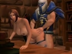Pornkraft Alliance - Incredible 3D anime xxx world
