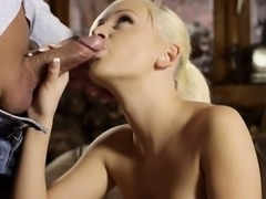 Teen whore loves meaty rods
