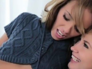 Slippery wet fingering delights for agreeable lesbian