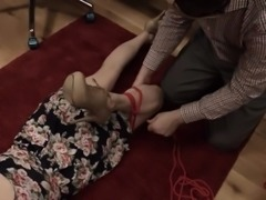 hot BDSM toilet slut fucked anally hard