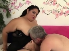 Fatty Latina Lorelai Givemore takes a fat dick
