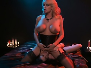 Stormy Daniels and Andy San Dimas enjoy another lesbian sex session in front of the camera