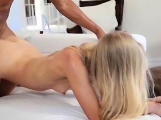 Teen Impaled and Cum Covered by BBC!