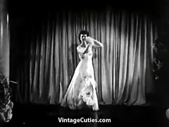 Long Legged Brunette Dances (1940s Vintage)