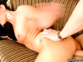 Sinfully sexy honey India Summer turns Xander Corvus on to the point of no return before they fuck hard