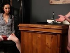 Cfnm teacher rubs panties