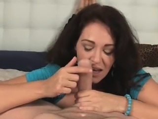 Give Charlee Chase a cock and the first thing you notice is