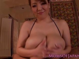 """Busty japanese milf bouncy tits"""