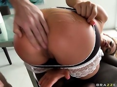 Mia Lelani with giant tits is not an anal whore but a porn babe who loves to...