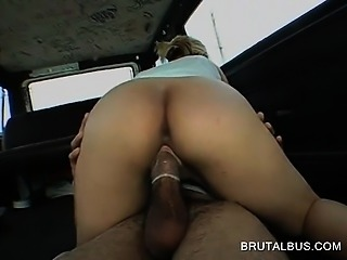 Horny blonde taking fat dick for a dirty ride