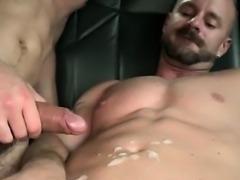 Horny dude fucks gay ass in the boys sex bus