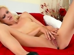 Jessi Green is a solo girl that is in her high heels. She is spreading her...