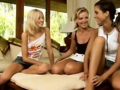 So sex appeal lesbians are relaxing previous to livecam