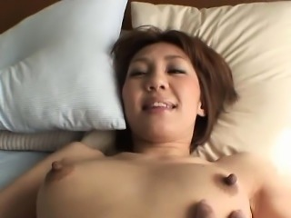 Milf mom groans while getting nipple licked and wang to suck