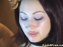 Horny Babe show her Juicy Pussy