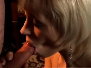 Old man love and blonde anal creampie Bruce has been married