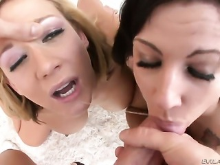 Lylith LaVey gets a fuck with hard dicked guy