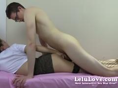 Lelu Love-Hooker Removes Condom Creampie