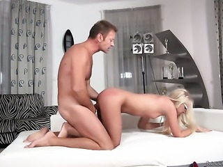 Rocco Siffredi gets seduced by Unthinkably sexy temptress Dora A and then drills her mouth