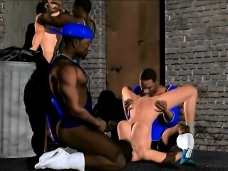 Dark Alley Fun - Hottest 3D anime sex collection