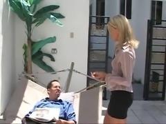 SB3 Horny Babysitter Fucks To Save Her Job !