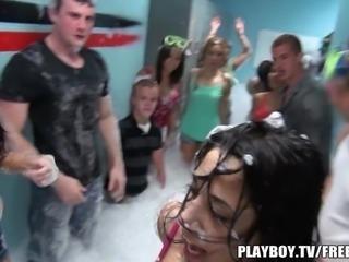 Playboy - Hot foam orgy party