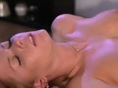 Wonderful Crissy enjoys sensual lesbian sex with Carrie