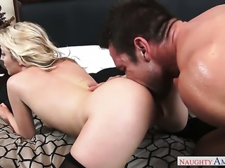 Johnny Castle loves always wet warm fuck hole of Exotic Karla Kush