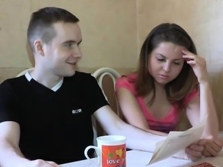 Naughty chick loves to be gangbanged by this stranger