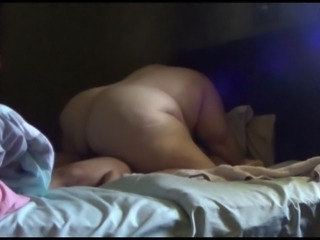 Big White Ass riding BBC