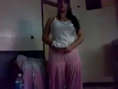Real Pakistani Punjabi Milf In Pink Fucks Her Young Lover