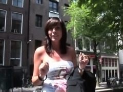 Real busty dutch hooker pussyfucking