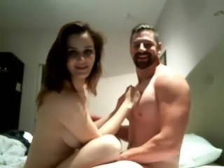hot couple kiss and fuck with her massive butt -- ifap2