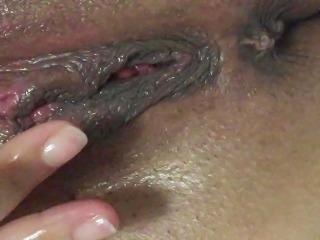 wet pussy after cum