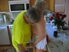 Grandma in the kitchen